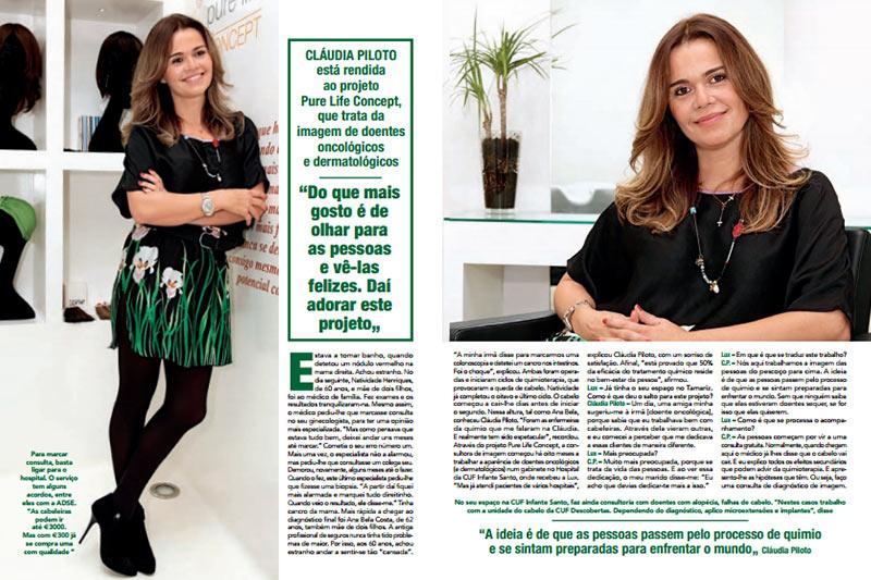 Entrevista a Cláudia Piloto